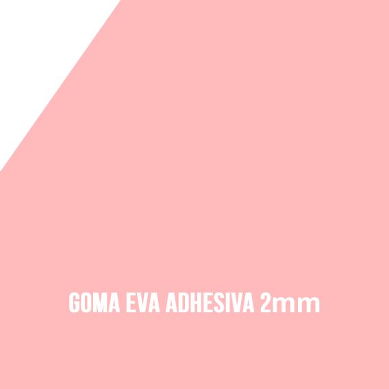 9b6510f0b34 Goma Eva Foamy Autoadhesiva en color rosa bebé