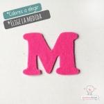 """Letras de fieltro Letra """"M"""""""
