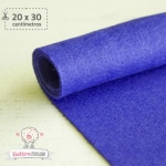 Fieltro Azul Eléctrico 1mm.