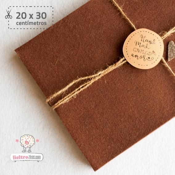 Fieltro Chocolate 2mm (20x30cm)