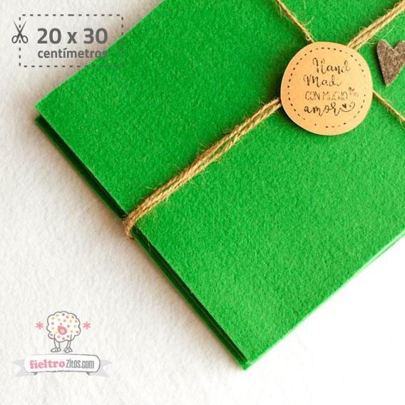 Fieltro Verde 2mm (20x30cm)