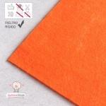 Fieltro Rígido Naranja 2mm (20x30cm)