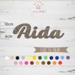 "Nombres de Fieltro ""Aida"""