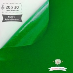 Fieltro Adhesivo Verde (20x30cm)
