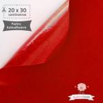 Fieltro Adhesivo Rojo (20x30cm)