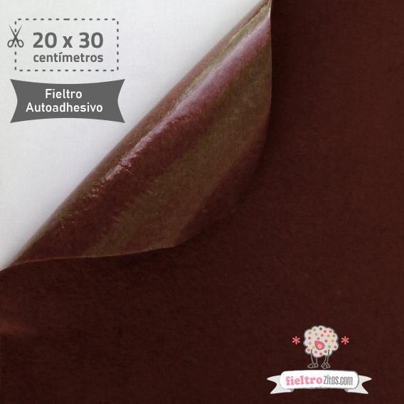 Fieltro Adhesivo Chocolate (20x30cm)