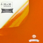 Fieltro Adhesivo Naranja (20x30cm)