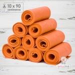 Tira de Fieltro Naranja (10x90cm)