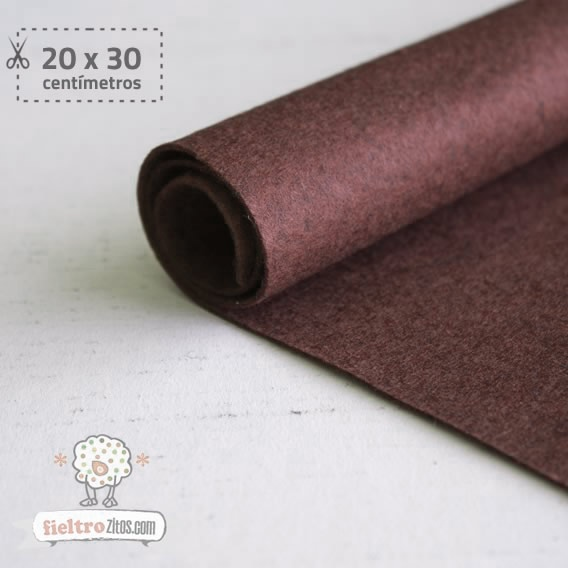 Fieltro Chocolate 1mm (20x30cm)