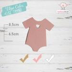 10 Etiquetas Colgantes Bautizo Personalizadas Trajecito Bebé Nena
