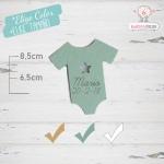 10 Etiquetas Colgantes Bautizo Personalizadas Trajecito Bebé Niño