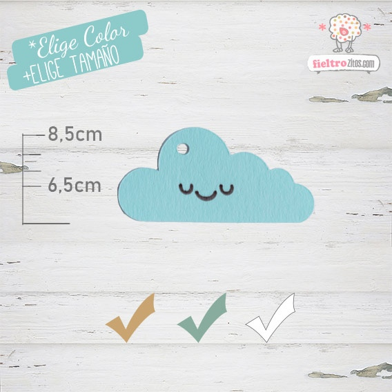 10 Etiquetas Colgantes Bautizo Personalizadas Nube Azul