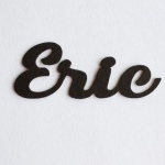 "Nombres de Fieltro ""Eric"""