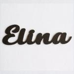 """Nombres de Fieltro """"Elina"""""""