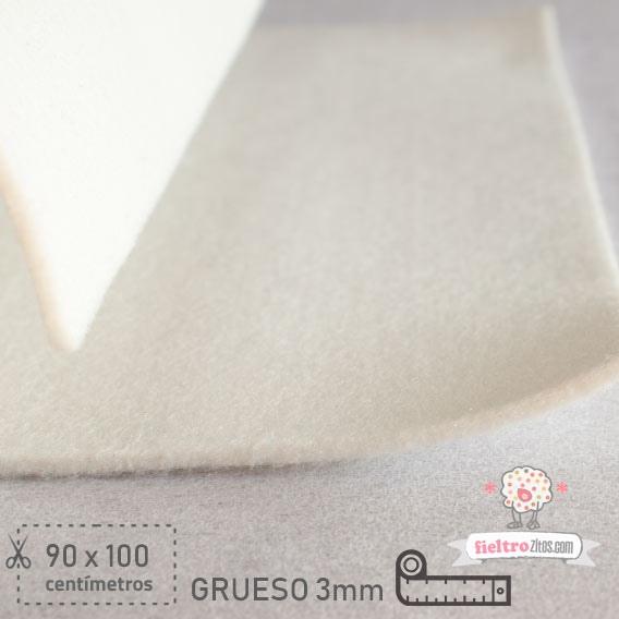 Fieltro Grueso Blanco