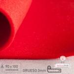 Fieltro Grueso Rojo