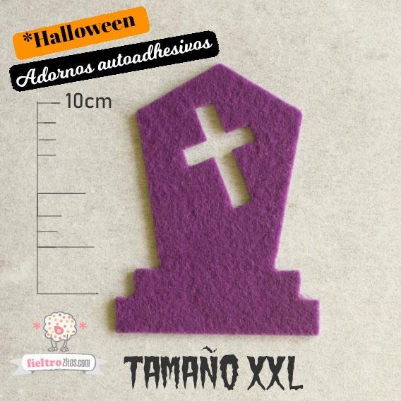 Adornos Tumba de Fieltro Halloween