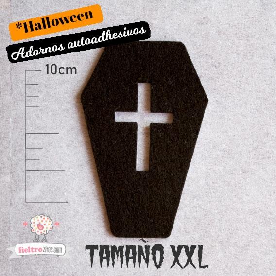 d1ff6ab5fef Ataúdes Negros de Fieltro - Adornos Halloween
