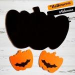 Posavasos y Salvamantel de Fieltro Halloween