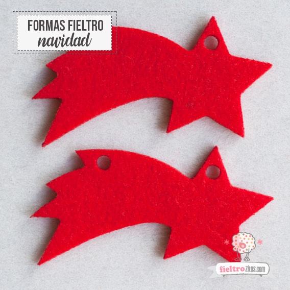 Estrellas de Belén Rojo Navidad