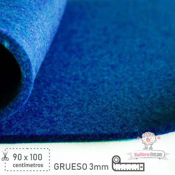 Fieltro Grueso Azul Eléctrico