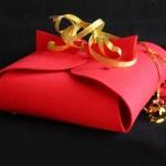 Caja de Fieltro Navidad