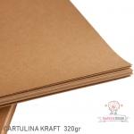 Cartulina Kraft 320gr.