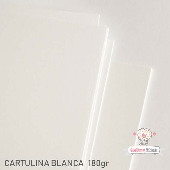 Cartulina Blanca 180gr.