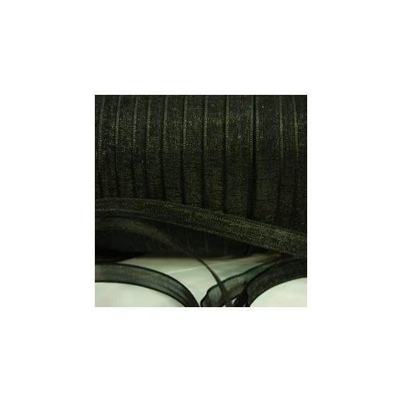 Organza Negro (3 metros)