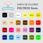 Fieltro Metros Azul Noche (90x100cm)