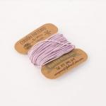 Cordón Encerado Violeta 1mm. (5 Metros)