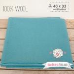Fieltro 100% Lana Azul Cielo (40x33cm)
