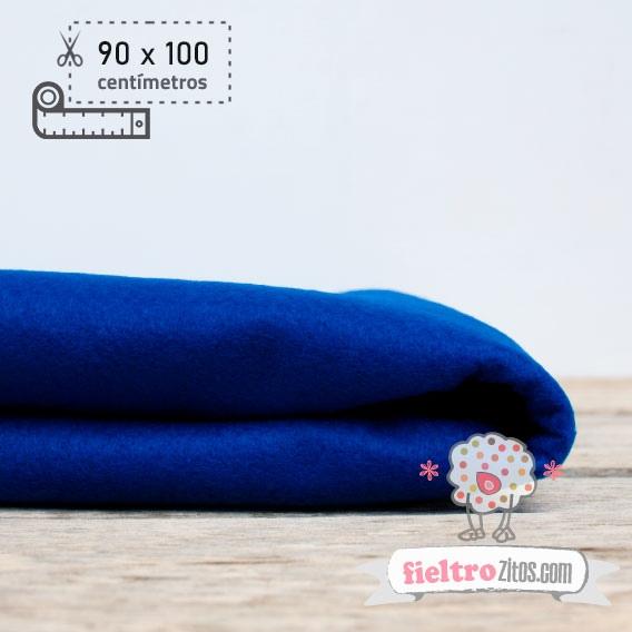Fieltro Metros Azul Eléctrico (90x100cm)