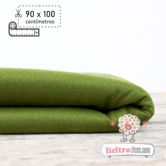 Fieltro Metros Verde Mili (90x100cm)