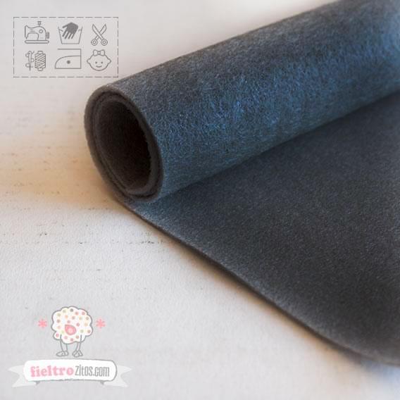 Fieltro Gris Cemento 1mm (20x30cm)