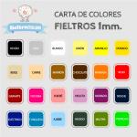 Fieltro Fluor Rosa 1mm (20x30cm)