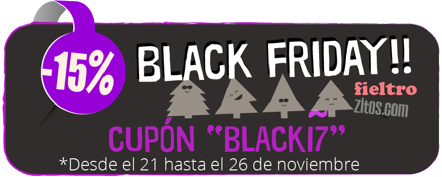 descuento Black Friday fieltrozitos