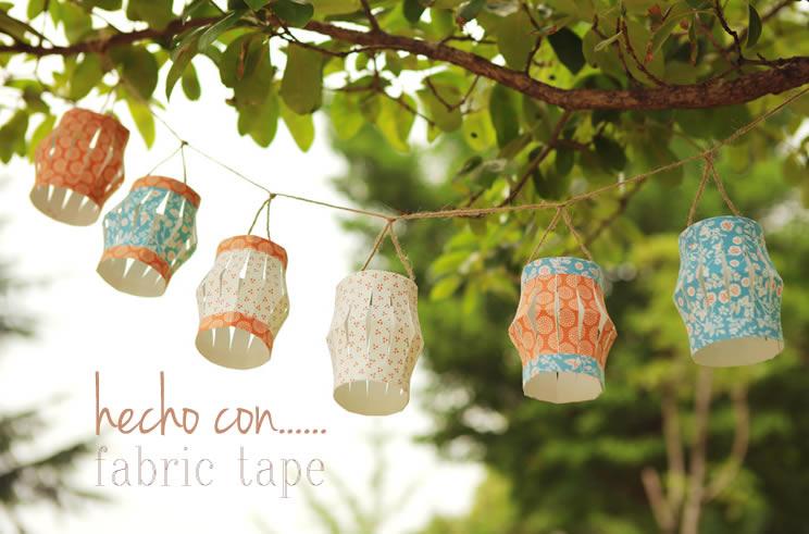cinta de tela adhesiva
