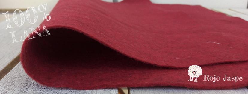 Fieltro de lana 100% pura lana merino de calidad extra.