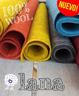 Fieltro de lana 100% de calidad